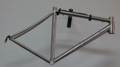 Lynskey R240 Di2 with hand brushed & etched finish