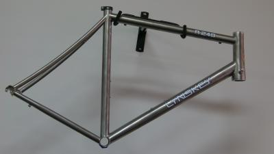 Lynskey R240 with mill finish & white decal