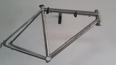 Lynskey R360 frame with mill finish & etched Lynskey logo