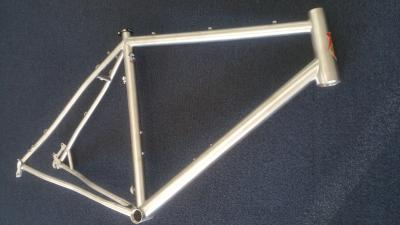 Lynskey 2015 Cooper CX frame with stealth finish