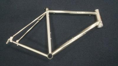 Lynskey Helix Sport frame with hand brushed & etched logo