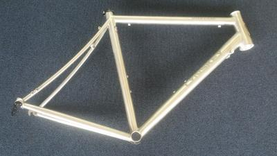 Lynskey Sportive frame with mill finish