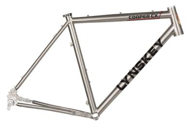 Lynskey 2018 Cooper CX frame with mill finish