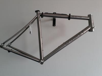 Lynskey 2019 R270 frame with hand brushed finish and etched logo